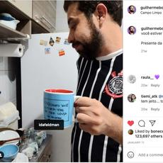 No instagram do Guilherme Boulos