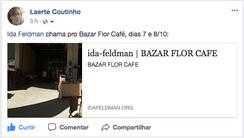 Laerte Coutinho chama pro Bazar