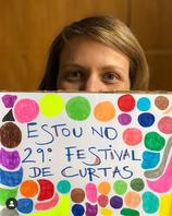 Livia Fusco no Festival de Curtas