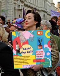 arte da arte do Bazar Flor Café
