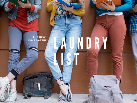 Laundry List is Here!