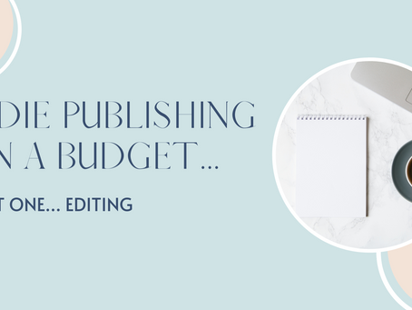 Indie Publishing on a Budget - Part One