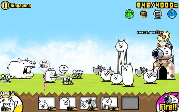 Battle Cats Stages