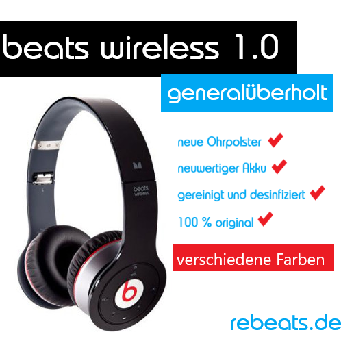 beats wireless 1 (generalüberholt)