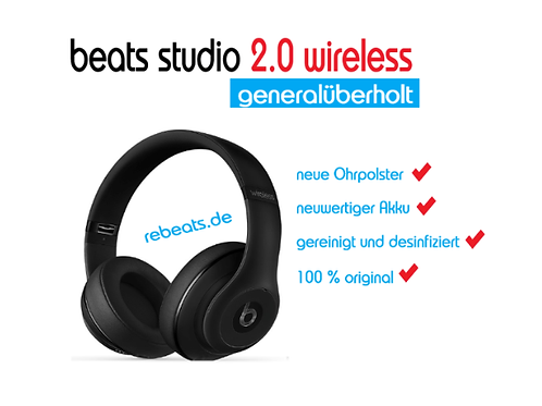 beats studio 2.0 wireless (generalüberholt)