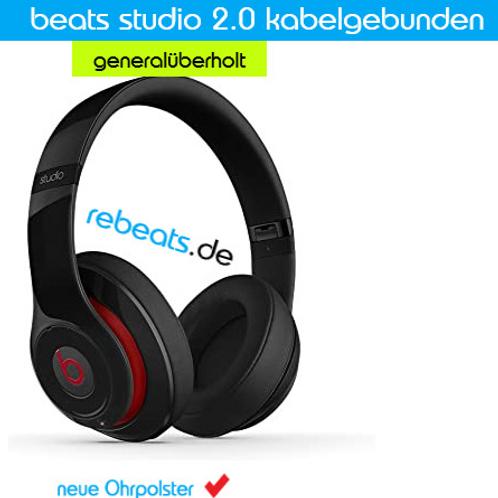 beats studio 2.0 kabelgebunden (generalüberholt)