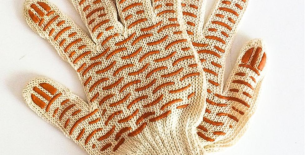 Перчатки Х/Б с ПВХ 5-ти нитка покрытием в виде волны