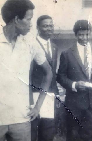 Saints 1968 with Bill Ward