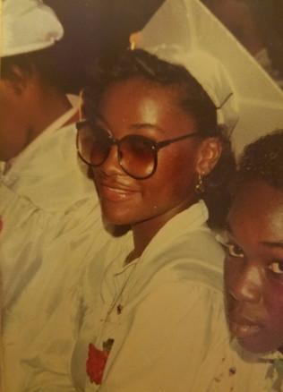 Jane at Graduation - Class of '82