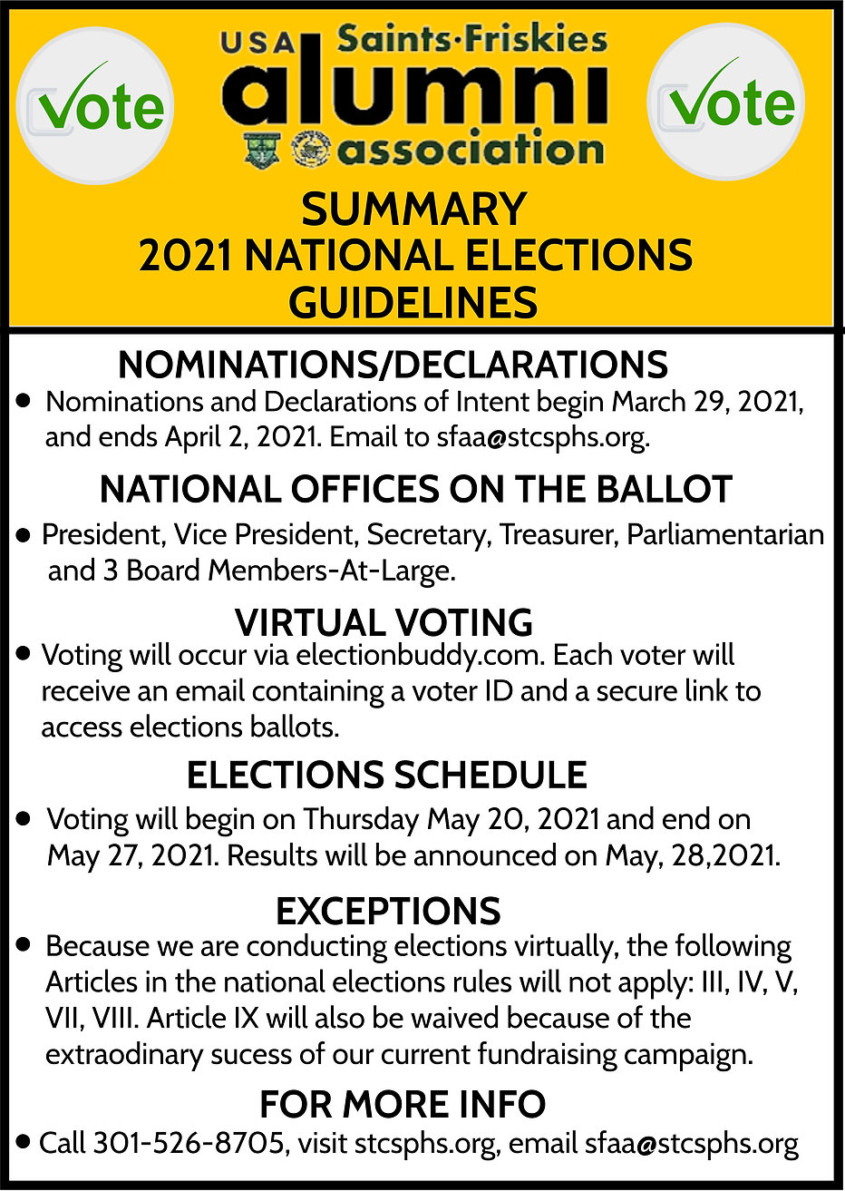 2021 NATIONAL ELECTIONS GUIDELINES 29MAR