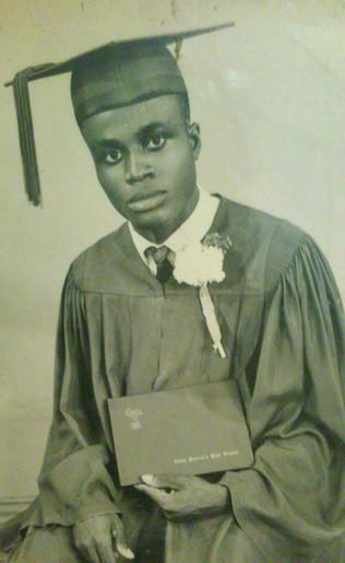 George graduates - Class of '65