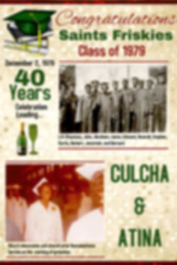 Class of 79 40th Anniversary December 2-