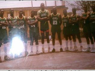 Saints Basketball Squad - 1992