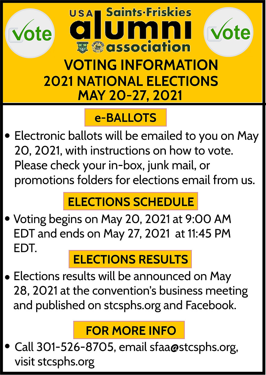 2021 NATIONAL ELECTIONS INSTRUCTIONS 4-5