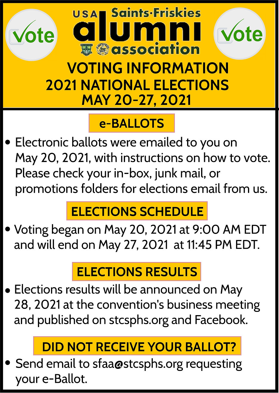 2021 NATIONAL ELECTIONS NOTICE 24MAY2021