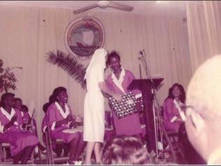 BTC gifts Sister Bernadette - Class of '84