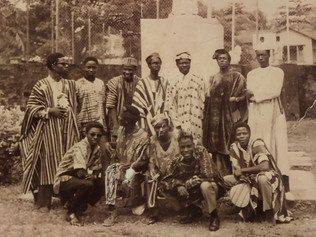 First African Day ('67) on campus