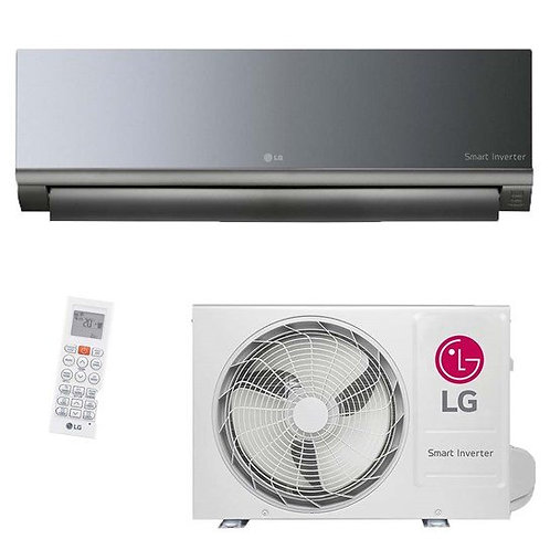 Ar condicionado split inverter  12000 btu/h smart art cool quente e frio