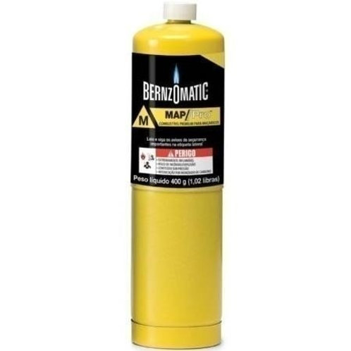 Refil Cilindro Gás Map - Pro 400g Bernzomatic