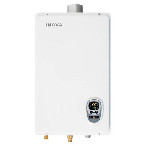 Aquecedor De Água Á Gás 18 Litros Inova In-180d Digital