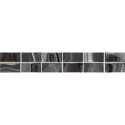Black 2 x 12 Convex Swirl