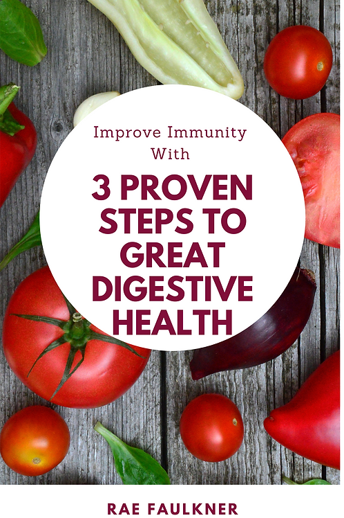3 Proven Steps To Great Digestive Health E-book