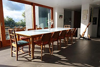 Custom designed dining table, besoke dining table, dining table