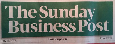 Website workshops story in Sunday Business Post