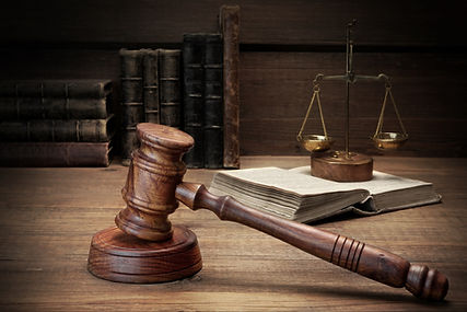 Judges Gavel, Legal Code And Scales Of Justice Closeup.jpg