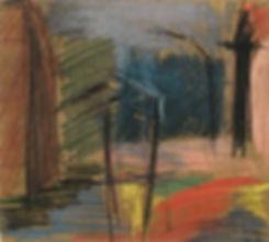art contemporain, Wiener Straße à Berlin , pastel