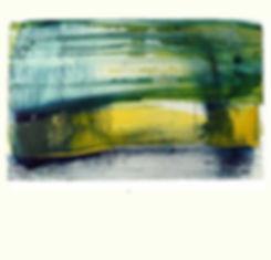 Art contemporain, acrylique sur toile