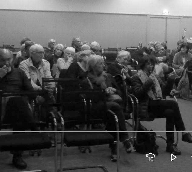Conférence d'André Sauvage - Débat avec la salle