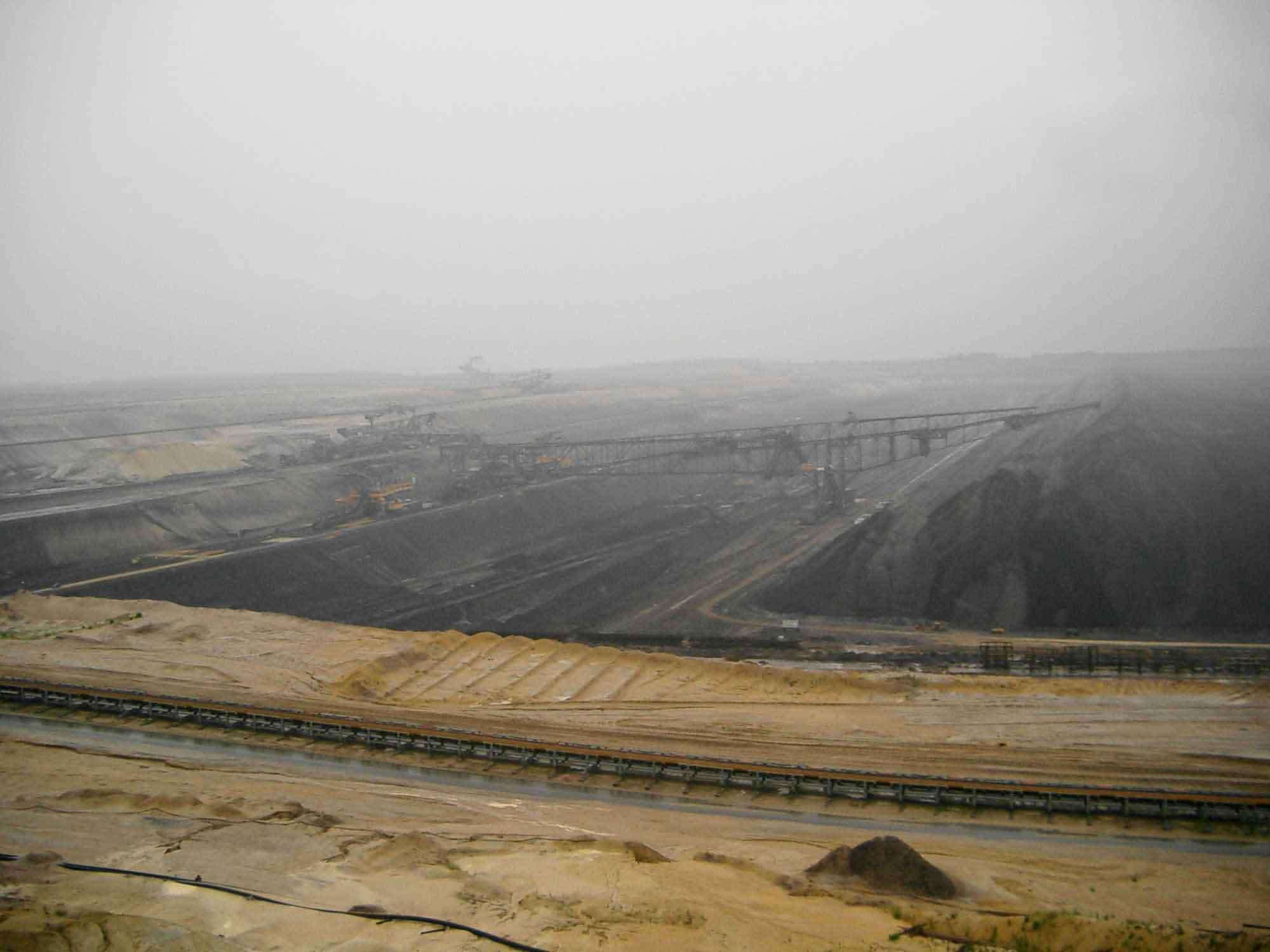 Mine à ciel ouvert