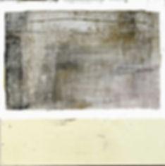 Egratignure, matière, acrylique et argile sur toile