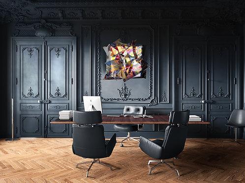 Effusion : Tableau mural rétroéclairé design & Moderne by Christine Savaric