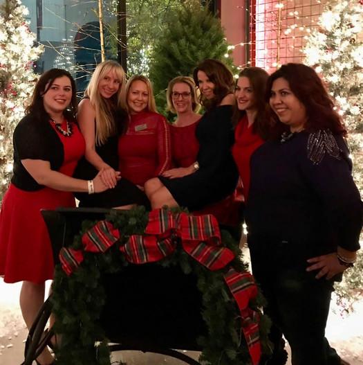 Monica, Alana, Serena, Heather, Consuela
