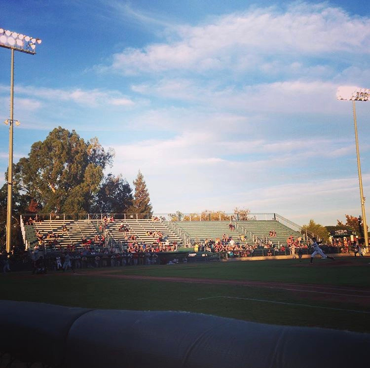 View of John Thurman Field from the first base line