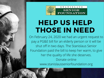 Help Us Help Those in Need