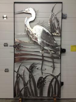 Blue Heron Gate