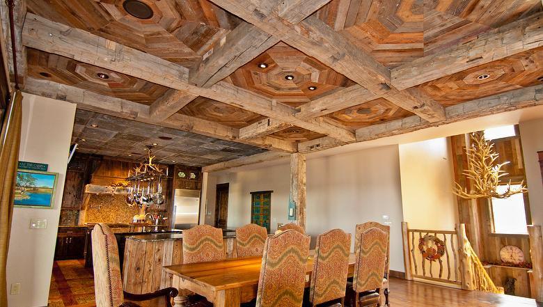 Barn Wood Brown _ ceiling