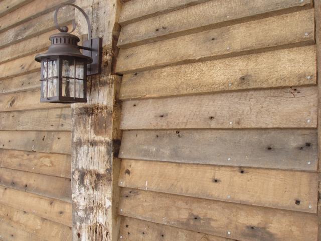 Barn Wood Brown ~ Wedge-Lap