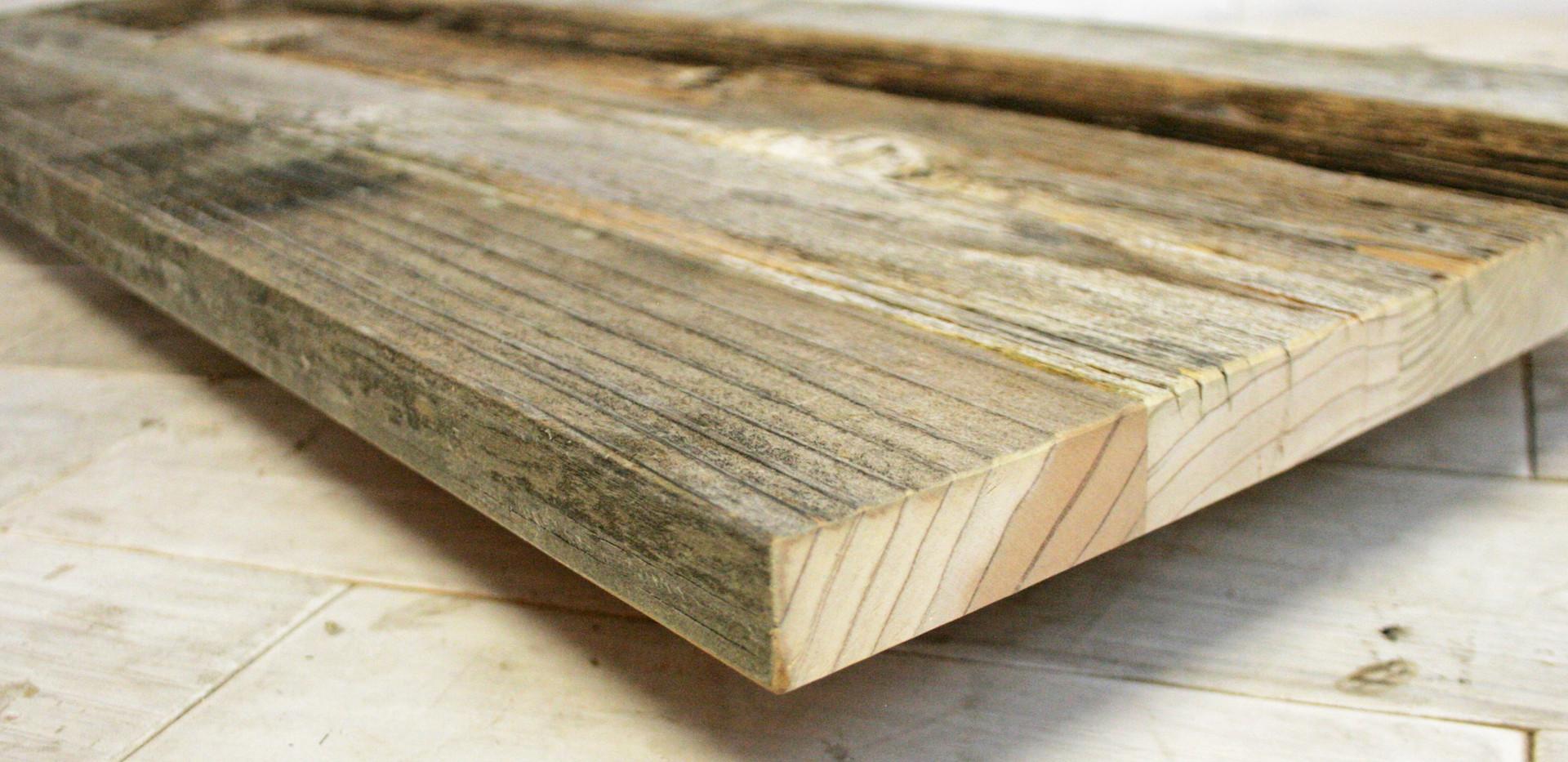 Barn Wood Shelf Unfinished