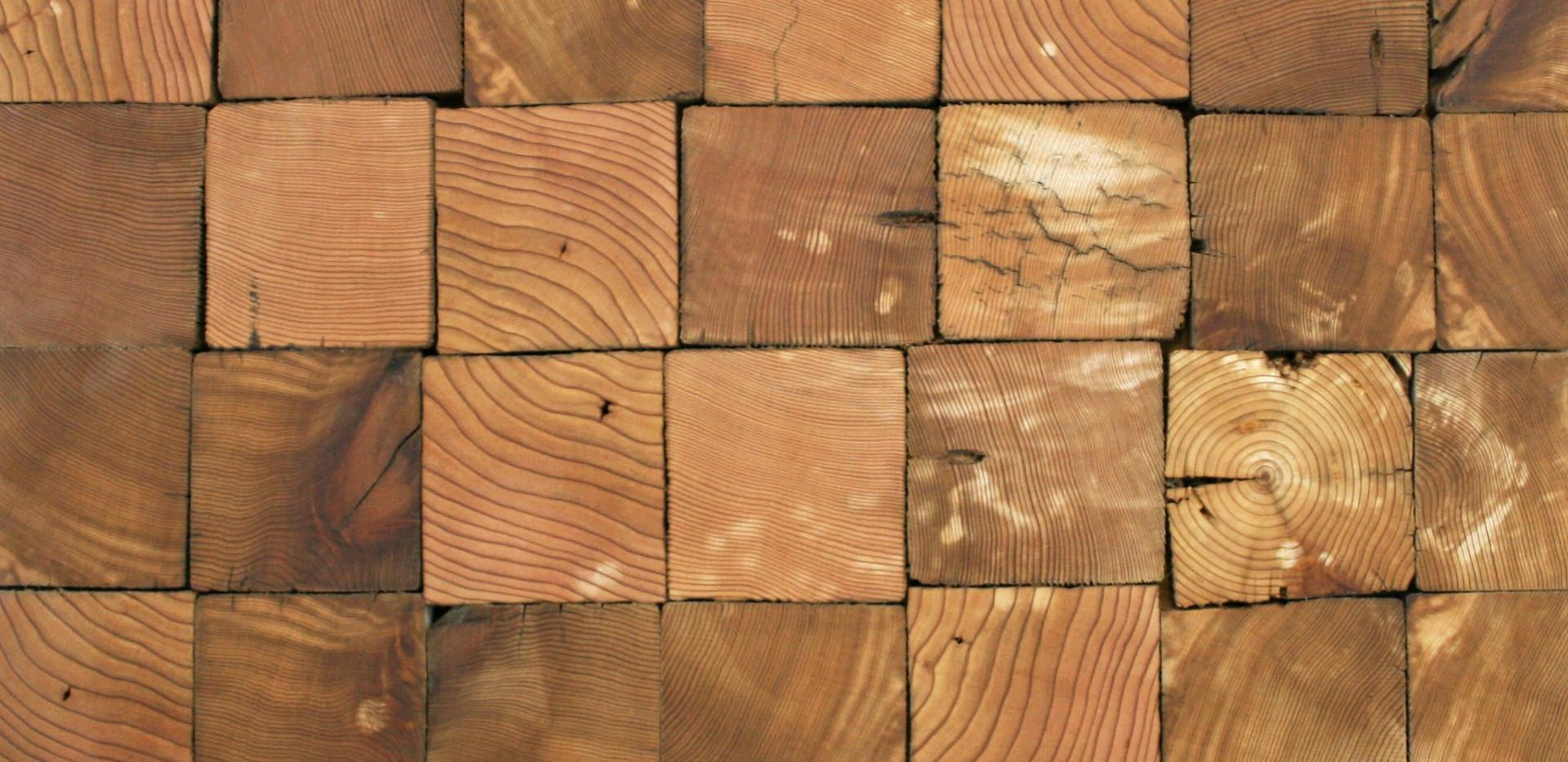 Original Cedar End Grain Tiles