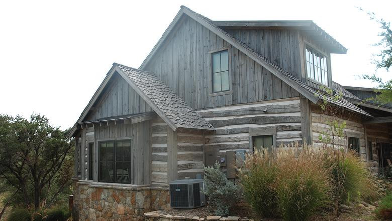 Rescued Plank Gray & Antique Hand Hewn S
