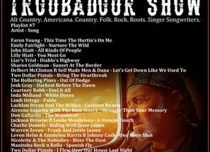 John Godfrey's Troubadour Show #7 Playlist