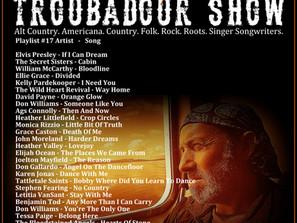 John Godfrey's Troubadour Show #17 Playlist