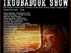 John Godfrey's Troubadour Show #21 Playlist
