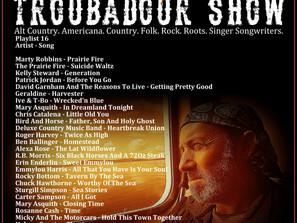 John Godfrey's Troubadour Show #16 Playlist