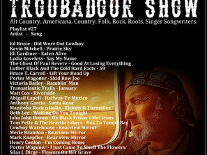 John Godfrey's Troubadour Show #27 Playlist