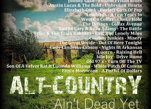 Alt Country. Ain't Dead Yet #8 Playlist